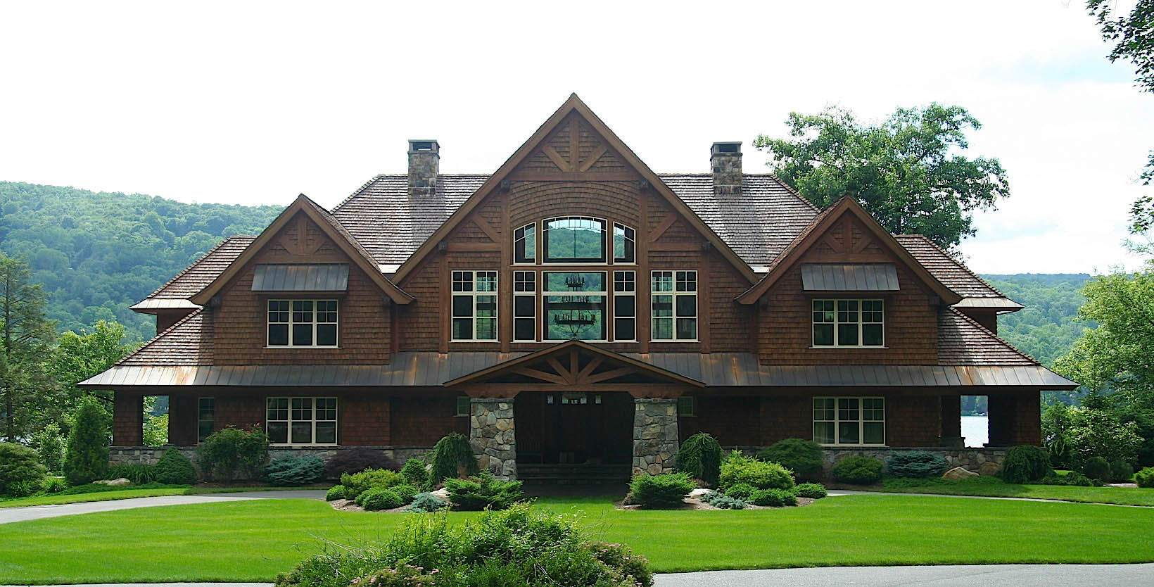 Sherman Lake House Exterior Buildings Houses Such